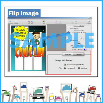 Create Comics Lesson and Activities