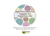 Comic Poetry Sketch - Creative Digital Narrative