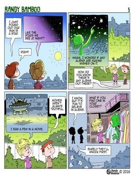 Comic Reader Series - Randy Bamboo #1-5