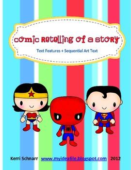 Comic Retelling of a Story