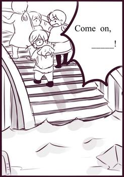 Comic Scrip worksheet of Magic Tree House#17 Tonight on the Titanic Chapter 6,7