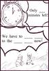 Comic Scrip worksheet of Magic Tree House#17 Tonight on the Titanic Chapter 8,9