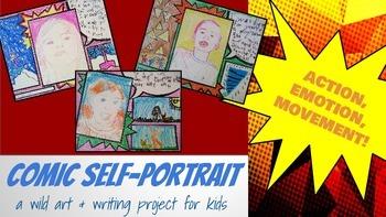 Comic Self-Portrait