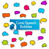 Comic Speech Bubble Clip arts