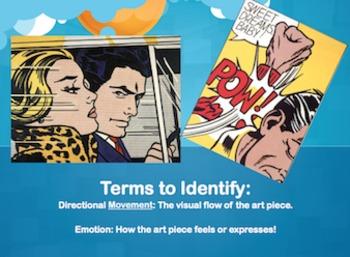 Comic Strip Art - Roy Lichenstein