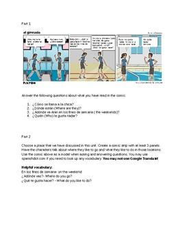 Comic Strip Assignment: ir-to go