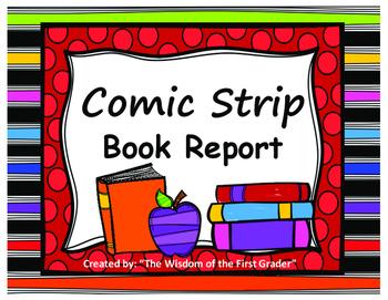 Comic Strip Book Report