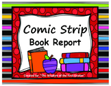 Comic Strip Book Report