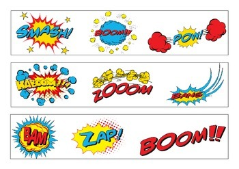 Comic Strip Bulletin Board Border