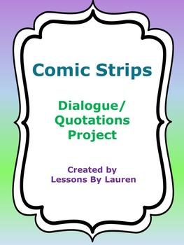 Comic Strip Dialogue & Quotations Project