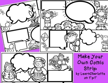 Comic Strip- Make Your Own!