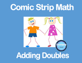 Comic Strip Math: Adding Doubles