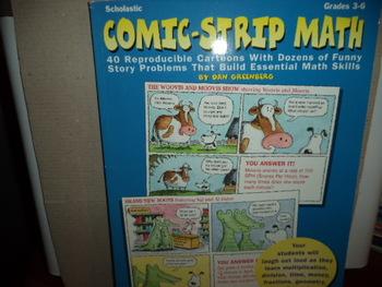 Comic-Strip Math  ISBN#0-590-18737-6