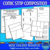 Comic Strip Music Composition (Reproducible)
