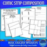 Comic Strip Music Composition (Reproducible)
