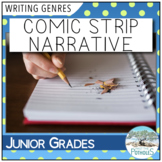 Comic Strip Narrative Writing - introduction to narrative writing mini-project