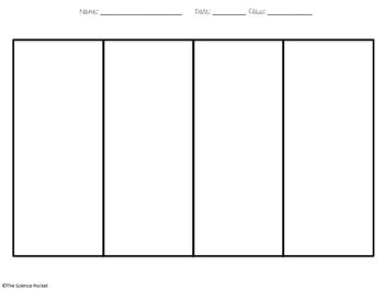 Comic Strip Outlines (Graphic Organizer)