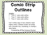Comic Strip Outlines (Graphic Organizer)