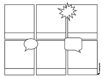Comic Strip Paper