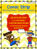 Comic Strip Planning Sheet, Templates and Rubrics