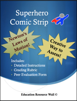 Comic Strip Project for Newton's Laws of Motion