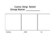 Comic Strip Retell