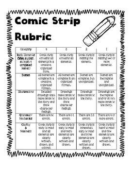 Comic Strip Rubric