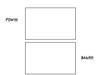 Comic Strip Sound Panels