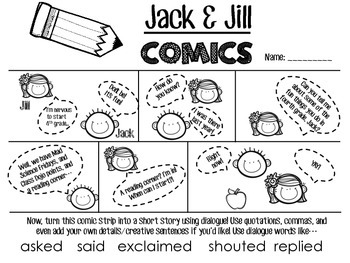 Comic Strip Stories