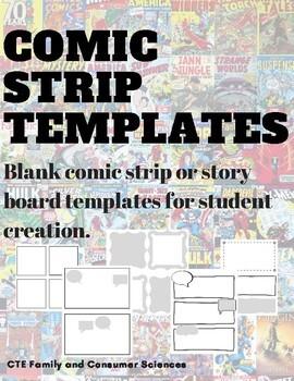 Comic Strip/Story Board Templates