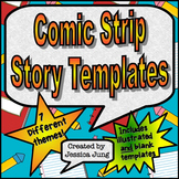 Comic Strip Story Templates