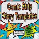 Comic Strip Story Templates