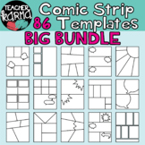 Comic Strip Template BUNDLE - 86 PCS - Comic Book