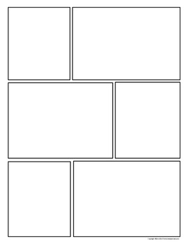 four panel comic strip template - free download comic strip template pages for creative