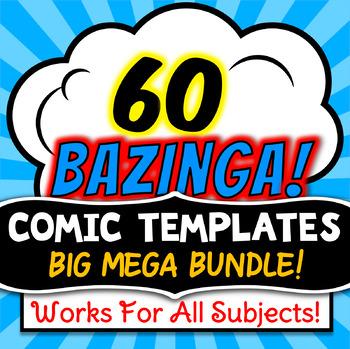 Comic Strip Templates - Growing Bundle!
