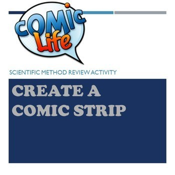 Comic Strip (using the Scientific Method)
