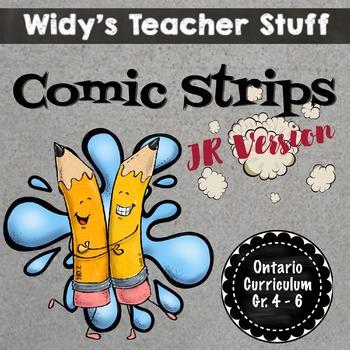 Comic Strips: Complete Unit for Lang. Arts & Media (14 Les
