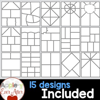 Comic Strips & Graphic Organizers - Clipart