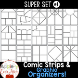 Comic Strips & Graphic Organizers - Clipart