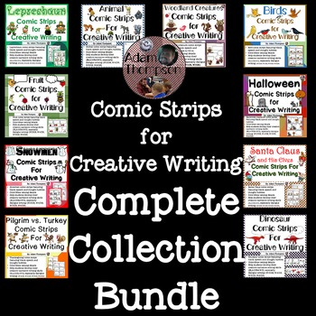 Comic Strips for Creative Writing Complete Collection Bundle