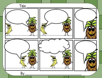 Comic Strip Writing - Fruit