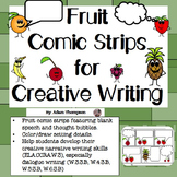 Comic Strip Writing - Fruit
