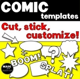 Comic Strip Templates Cut and Stick