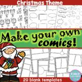 Comic Templates - Make your own Comic - Christmas Theme