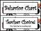 Comic Theme Behavior Chart