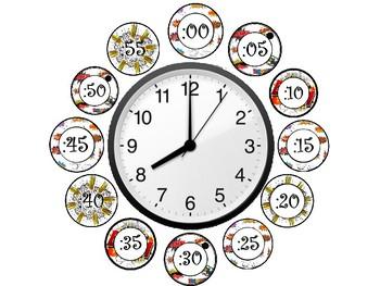 Comic Theme Clock Minutes