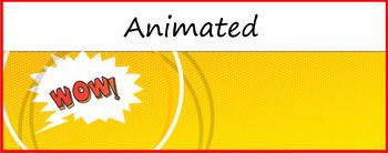 "Google Classroom Animated Theme ""Comic"""