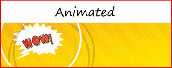 Google Classroom Animated Theme (Comic)