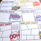 Comic Themed Exit Tickets