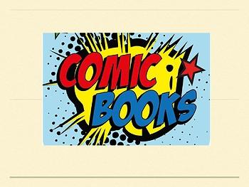Comic Unit Powerpoint